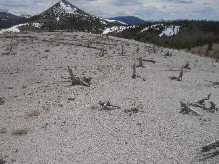 Upper Joiner Wind erosion
